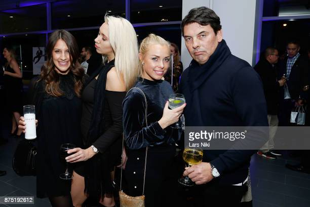 Laura Groppe Anya Labonville Christina Suul and Gene Dubrovin attend the Gotham Men's Issue Celebration at the BMW of Manhattan Showroom on November...