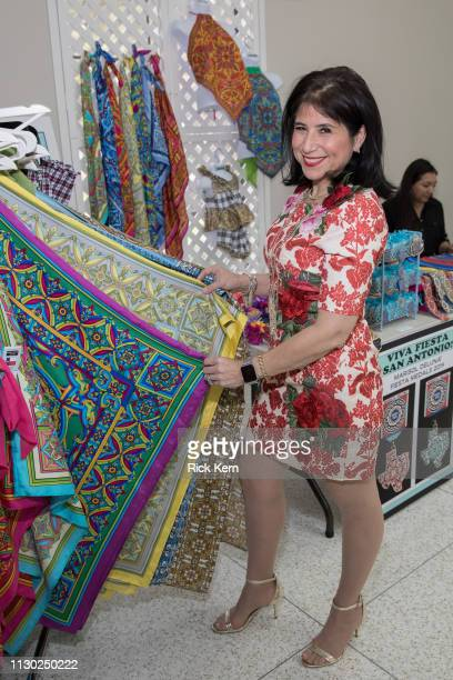 Laura Gulley attends the Marisol Deluna Foundation Community Fashion Show at the San Antonio Garden Center on February 16 2019 in San Antonio Texas