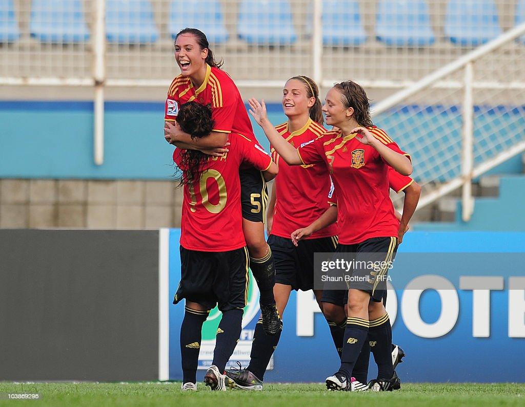 Spain v Japan - FIFA U17 Women's World Cup : News Photo