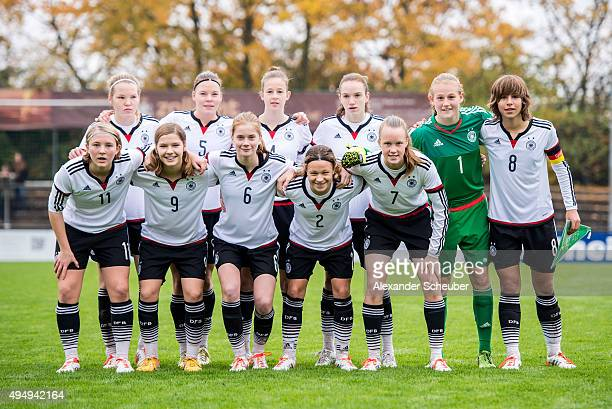 Laura Haas of Germany Juliane Wirtz of Germany Anna Aehling of Germany Vanessa Zilligen of Germany Franziska Trenz of Germany Lena Sophie Oberdorf of...