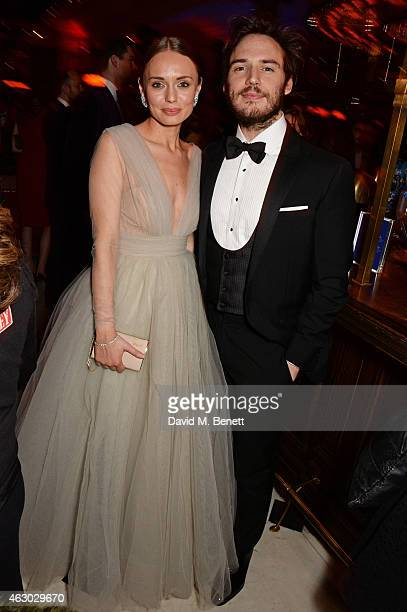 Laura Haddock and Sam Claflin attend The Weinstein Company Entertainment Film Distributor StudioCanal 2015 BAFTA After Party in partnership with...
