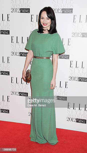 Laura Haddock arrives at the ELLE Style Awards at The Savoy Hotel on February 13 2012 in London England