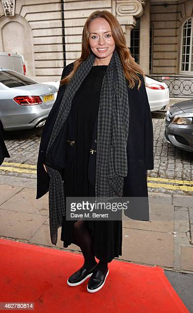 Laura Haddock attends a VIP Screening of Still Alice at The Curzon Mayfair on February 5 2015 in London England
