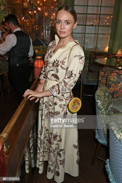 Laura Haddock attends the Annabel's x Dior dinner on May 21 2018 in London England