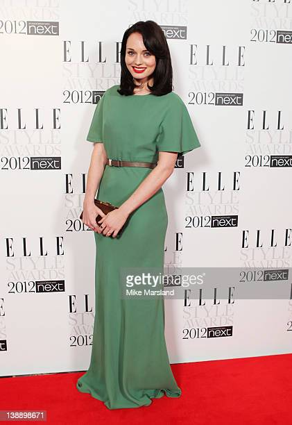 Laura Haddock attends the ELLE Style Awards 2012 at The Savoy Hotel on February 13 2012 in London England