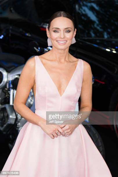 Laura Haddock attends the global premiere of Transformers The Last Knight at Cineworld Leicester Square on June 18 2017 in London England