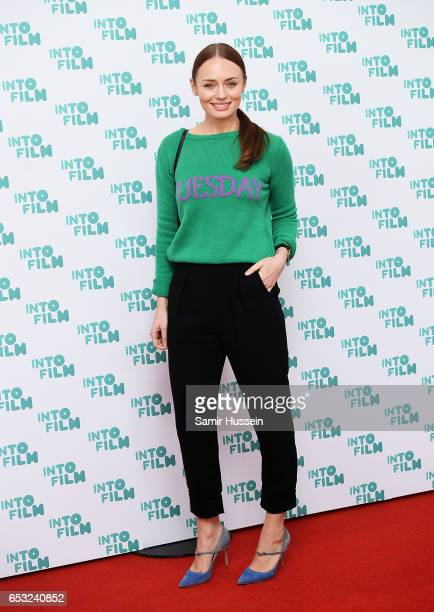 Laura Haddock attends the Into Film Awards on March 14 2017 in London United Kingdom
