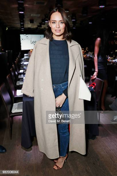 Laura Haddock attends the Lee Body Optix by Lee Jeans dinner at The London EDITION on March 14 2018 in London England