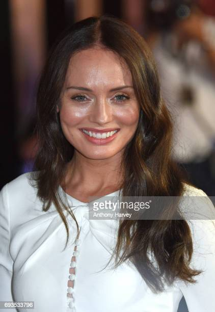 """Laura Haddock attends the World Premiere of """"My Cousin Rachel"""" at Picturehouse Central on June 7, 2017 in London, England."""