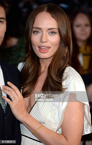 Laura Haddock attends 'Their Finest' Mayor's Centrepiece Gala screening during the 60th BFI London Film Festival at Odeon Leicester Square on October...