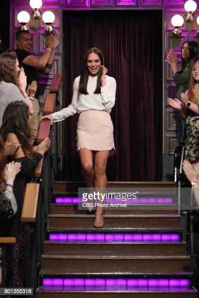 Laura Haddock visits The Late Late Show with James Corden Thursday June 22 2017 On The CBS Television Network