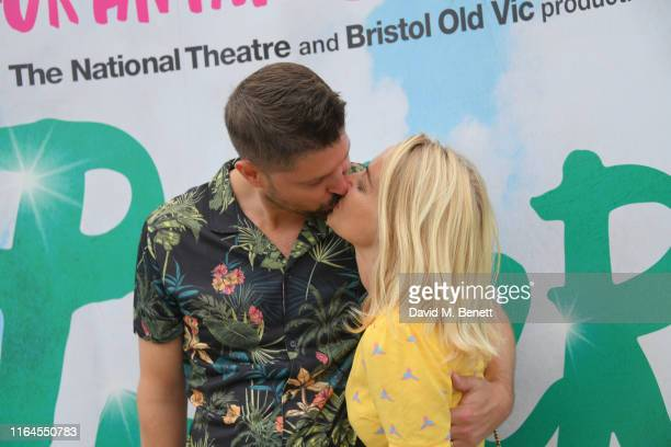 Laura Hamilton and Alex Goward attend the press performance of Peter Pan at the Troubadour White City Theatre on July 27 2019 in London England