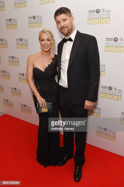 Laura Hamilton and Alex Goward attend the St John Ambulance's Everyday Heroes Awards a star studded celebration of the nation's life savers at Hilton...