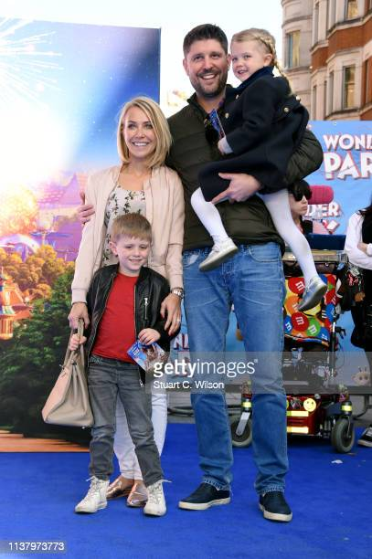 Laura Hamilton and Alex Goward attend the UK Gala screening of WONDER PARK at Vue Leicester Square on March 24 2019 in London England