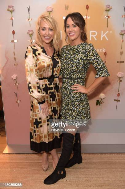 Laura Hamilton and Hayley Sparkes attend the VIP launch party celebrating Stacey Solomon's new collection with Primark on October 10 2019 in London...