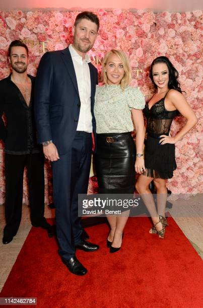 Laura Hamilton at The London Cabaret Club's launch of its new show Hats Heels and Horses on May 9 2019 in London England