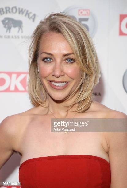 Laura Hamilton attends OK Magazine's 25th Anniversary Party at The View from The Shard on March 21 2018 in London England