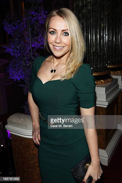 Laura Hamilton attends Patrick Hellmann Store Launch and Collection Preview in 50 St James Street on March 14 in London England