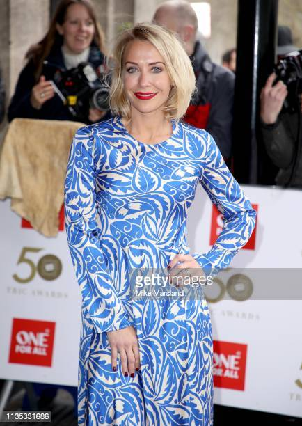 Laura Hamilton attends the 2019 'TRIC Awards' held at The Grosvenor House Hotel on March 12 2019 in London England