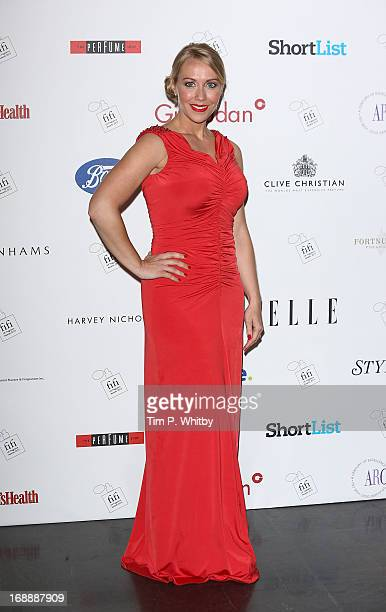 Laura Hamilton attends the FiFI UK Fragrance Awards 2013 at The Brewery on May 16 2013 in London England