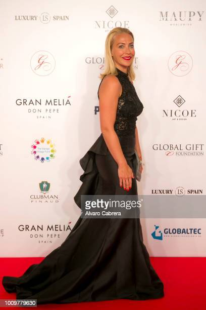 Laura Hamilton attends The Global Gift Gala Marbella 2018 on July 29 2018 in Marbella Spain