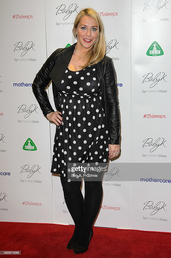 Mothercare - VIP Christmas Party - Arrivals : News Photo