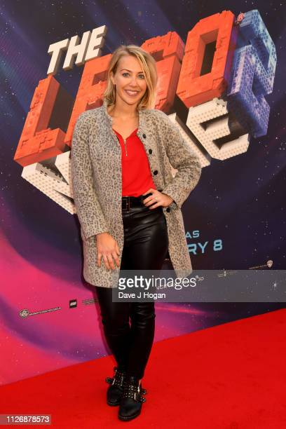 Laura Hamilton attends the multimedia screening of The Lego Movie 2 The Second Part at Cineworld Leicester Square on February 02 2019 in London...
