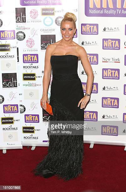 Laura Hamilton attends the National Reality TV Awards at Porchester Hall on August 30 2012 in London England