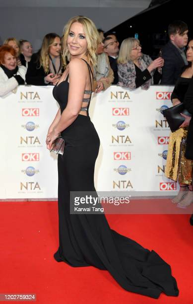 Laura Hamilton attends the National Television Awards 2020 at The O2 Arena on January 28 2020 in London England