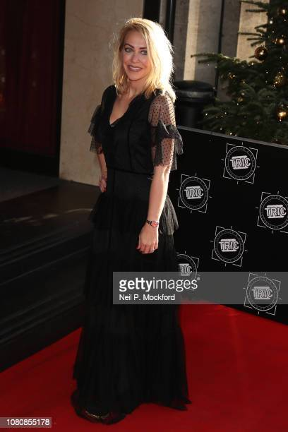 Laura Hamilton attends The TRIC Awards 2018 at Grosvenor House on December 11 2018 in London England