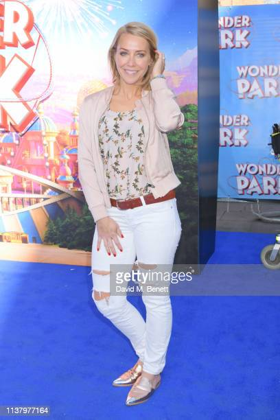 Laura Hamilton attends the UK Gala Screening of Wonder Park at the Vue Leicester Square on March 24 2019 in London England
