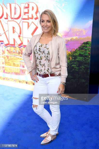 Laura Hamilton attends the UK Gala screening of WONDER PARK at Vue Leicester Square on March 24 2019 in London England
