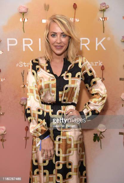 Laura Hamilton attends the VIP launch party celebrating Stacey Solomon's new collection with Primark on October 10 2019 in London England