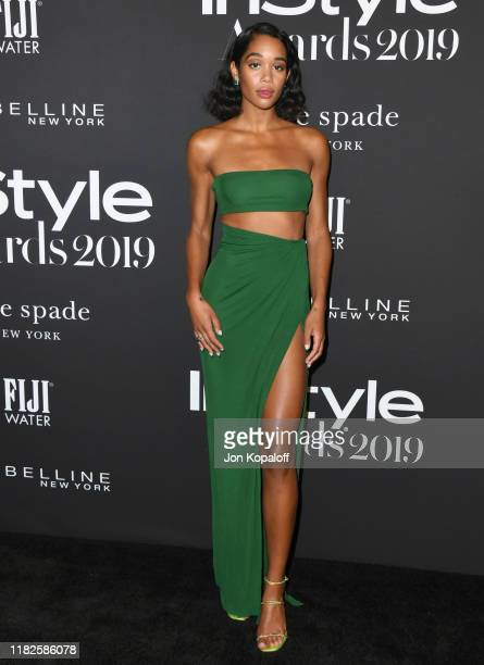 Laura Harrier attends the 2019 InStyle Awards at The Getty Center on October 21, 2019 in Los Angeles, California.