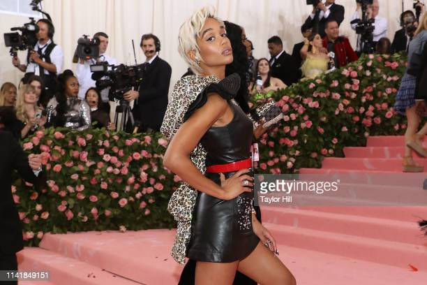 Laura Harrier attends the 2019 Met Gala celebrating Camp Notes on Fashion at The Metropolitan Museum of Art on May 6 2019 in New York City