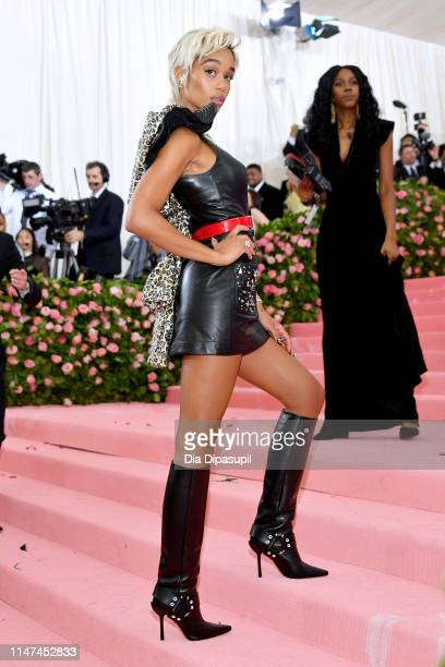 Laura Harrier attends The 2019 Met Gala Celebrating Camp: Notes on Fashion at Metropolitan Museum of Art on May 06, 2019 in New York City.