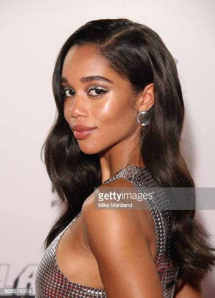 """Laura Harrier attends the """"BlacKkKlansman"""" After Party during the 71st annual Cannes Film Festival at on May 14, 2018 in Cannes, France."""