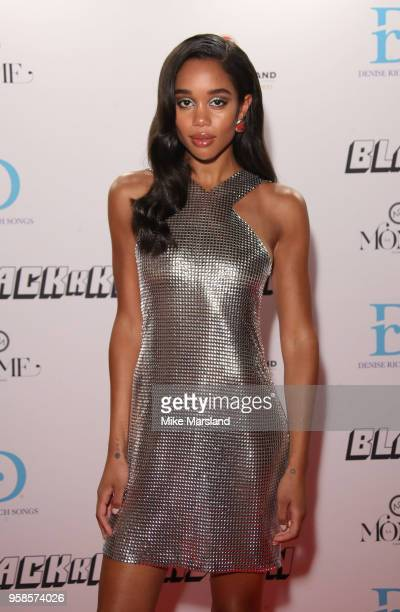 Laura Harrier attends the BlacKkKlansman After Party during the 71st annual Cannes Film Festival at on May 14 2018 in Cannes France