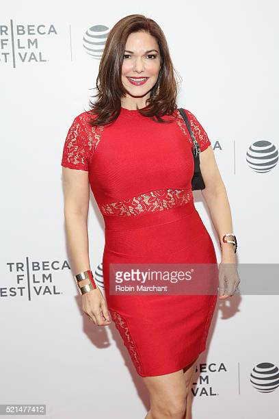 Laura Harring attends the The Loner Premiere during the 2016 Tribeca Film Festival at Regal Battery Park Cinemas on April 15 2016 in New York City