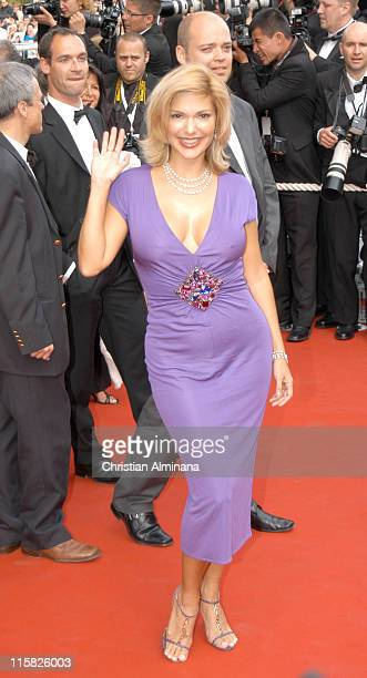 Laura Harring during 2005 Cannes Film Festival 'Where the Truth Lies' Premiere at Palais des Festival in Cannes France
