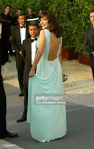 """Laura Harring during amfAR's """"Cinema Against AIDS Cannes"""" Benefit Sponsored by Miramax and Quintessentially - Arrivals at Moulin De Mougins in..."""