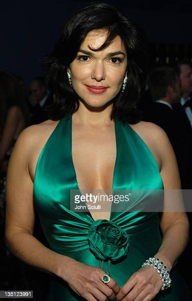 Laura Harring during Audi of America Red Carpet Coverage at 14th Annual Elton John AIDS Foundation Oscar Viewing Party at Pacific Design Center in...