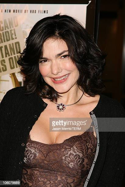 Laura Harring during HBO Films 'Walkout' Los Angeles Premiere Arrivals at Cinerama Dome in Hollywood California United States