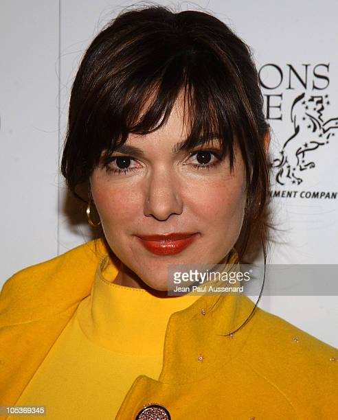 Laura Harring during Lions Gate Films PreOscar Party Arrivals at SkyBar in Los Angeles California United States