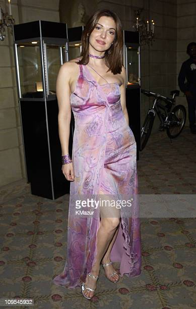 Laura Harring during The 12th Annual Rainforest Foundation Concert After Party at Pierre Hotel in New York City New York United States