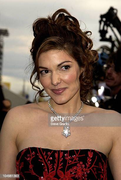 Laura Harring during The 74th Annual Academy Awards Arrivals at Kodak Theater in Hollywood California United States