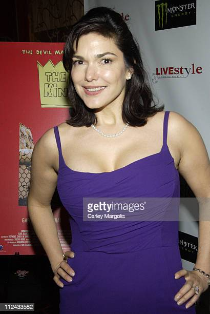 Laura Harring during 'The King' New York Premiere After Party at Libation in New York City New York United States