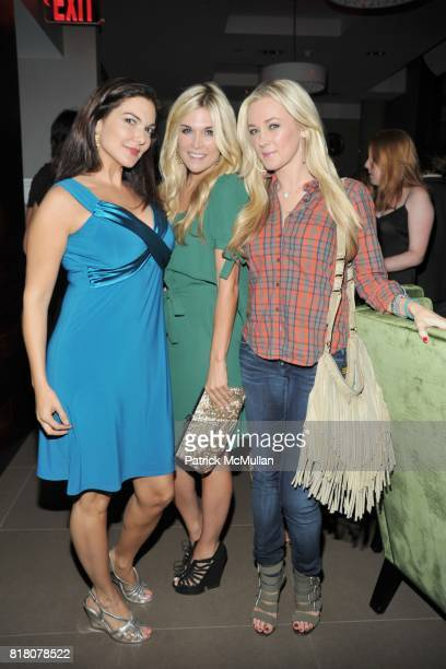 Laura Harring Tinsley Mortimer and Dabney Mercer attend COLUMBIA PICTURES THE CINEMA SOCIETY host the after party for 'THE SOCIAL NETWORK' at...