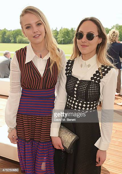 Laura Hayden and Barbara van Stigt attend day one of the Audi Polo Challenge at Coworth Park on May 30 2015 in London England