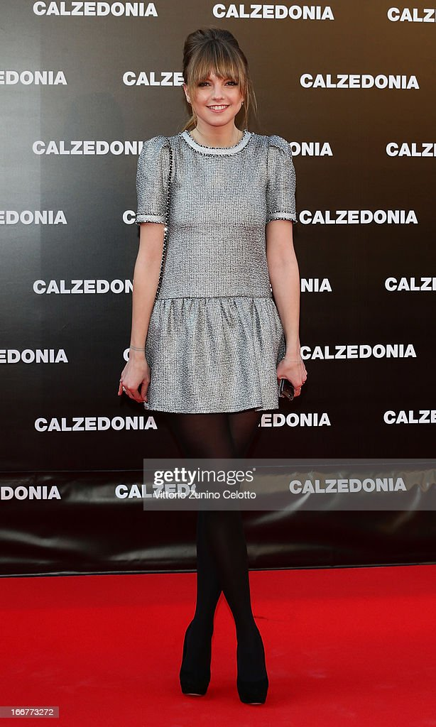 Laura Hayden attends Calzedonia Summer Show Forever Together on April 16, 2013 in Rimini, Italy.